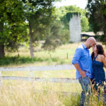 Tina & Bill's Central Virginia Engagement Session at a Bed & Breakfast