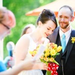 Capitol Inspiration: Tatiana & Ben's Offbeat, Retro Wedding in the Catskills