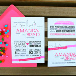 Capitol Inspiration: Modern Washington DC Wedding Invitations from Tabibi Design