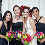 Anne & Tim's Bright Pink, Blue & Green River Farm Wedding in Northern Virginia