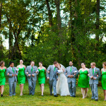 Danielle & Braxton's Offbeat, Bright Green Wedding in Alexandria, VA
