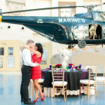 Capitol Inspiration: 1920s Glamour Meets Marine Corps, An Art Deco Styled Wedding Shoot