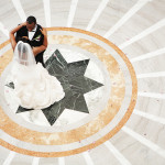 Jamaal & Cheree's Purple & Gold Washington, DC Wedding