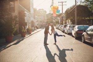 annapolis maryland engagement balloons puppy carnival save the date (6)