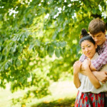 Misato & Chris' Hendry House Pre-Wedding Portrait Session