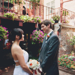 Ryoko & Patricks' Intimate Northern Virginia Wedding at Taverna Cretekou