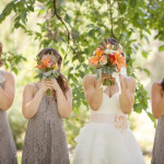 Capitol Inspiration: Orange & Grey DIY Wedding Inspiration from a Montana Wedding