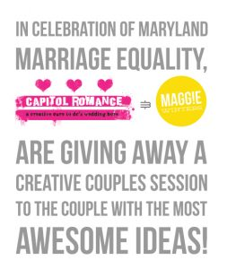 elopement maryland same sex wedding photography session giveaway