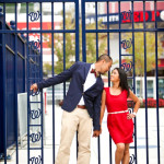 Capitol Romance: Jodi & Rich's Nationals Stadium Engagement Session in DC