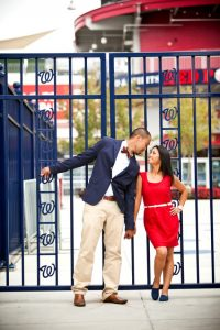 washington dc engagement pictures baseball Nationals stadium (15)