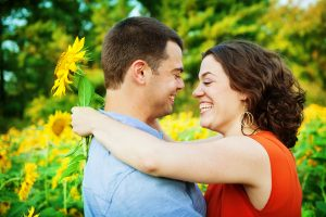 potomac maryland weddings engagement photographer sunflower field pictures (4)