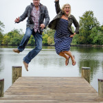 Capitol Romance: Lauren & Jake's 'Gone Fishin' Maryland Engagement Session