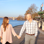 Capitol Romance: Katrina & Mike's Georgetown DC Engagement Session