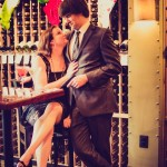 Capitol Romance: Jess & Chris' Offbeat, James Bond Inspired Engagement Shoot