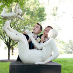 Capitol Romance: Matt & Tom's Offbeat, Art Gallery Wedding in Maryland