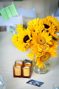 summer garden outdoor northern virginia alexandria wedding venue sunflowers (20)