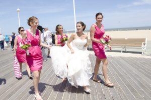 ocean city maryland beach wedding theme blog hot pink (4)