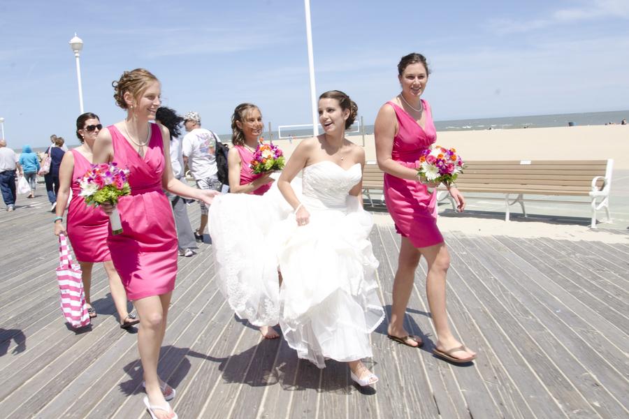 Ocean City Maryland Beach Wedding Theme Blog Hot Pink 4 Capitol