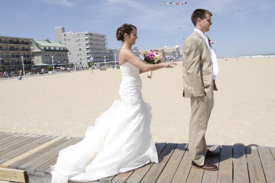 Ocean City Maryland Beach Wedding Theme Blog Hot Pink 5