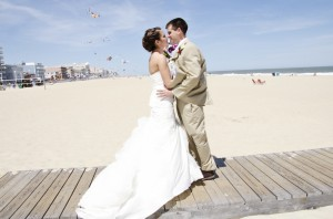 ocean city maryland beach wedding theme blog hot pink (6)