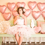 Capitol Inspiration: A Valentine's Inspired Shoot with Pink Hearts & Vintage Stylings