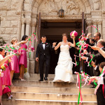 Capitol Inspiration: Hot Pink & Green Modern Washington DC Wedding