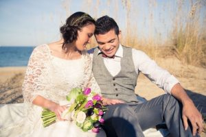 purple teal rustic virginia beach elopement inspiration pictures (1)