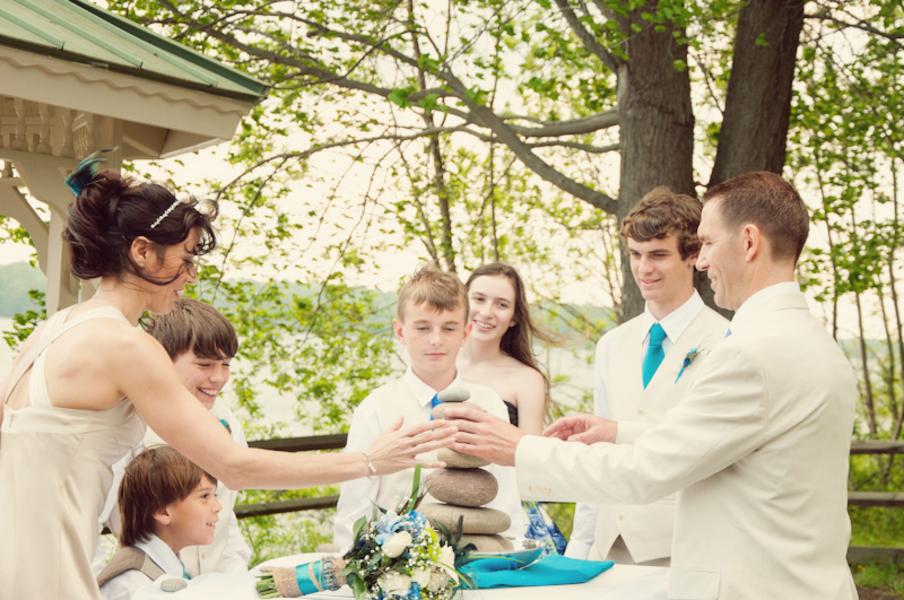 budget friendly peackcock themed maryland wedding