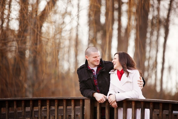 meadowlark botanical gardens engagement picture virginia wedding blog