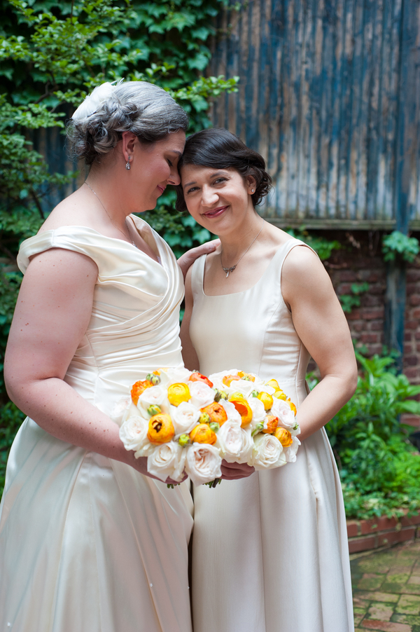 washington dc same sex arts club of washington orange wedding