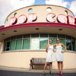 Capitol Wedding: Rosemary & Rachel's Modern & Brightly Colored Glen Echo Park Wedding in MD