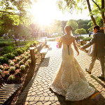Capitol Wedding: Cheryl & Andrew's Offbeat 1970s Disco Glam Wedding in Maryland