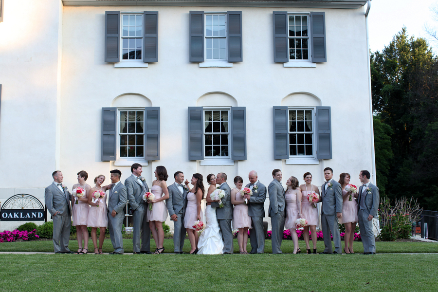 spring inspired pale pink vintage maryland wedding oakland mansion blog