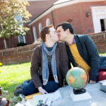 Capitol Romance: Edwin & Roger's Travel Themed Picnic Love Shoot at University of Maryland