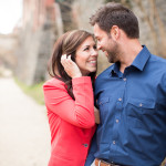 Capitol Romance: Jeff & Tracy's Stylish Washington DC Engagement Session in Georgetown