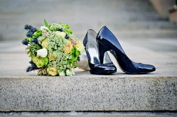 green wild modern classy flower bouquet