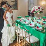 Capitol Inspiration: A Bold Green & Gold, Great Gatsby Inspired Wedding Shoot