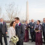 Capitol Wedding: Doug & Erica's Winter Wedding at DAR in Washington, DC