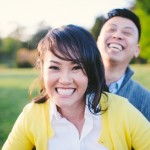 Capitol Romance: Thuy & Phillip's Burke Lake Park, Northern Virginia Engagement