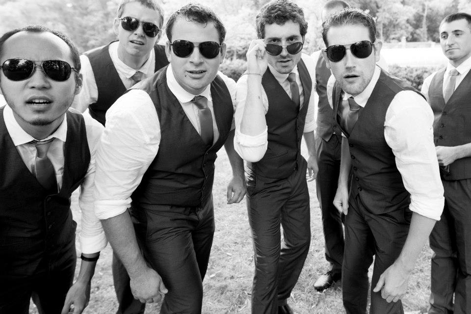 offbeat hipster groomsmen awesome portrait pictures