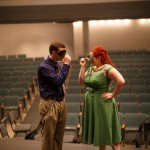 Capitol Romance: Tim & Megan's Theatrical, George Mason Theatre Engagement Session