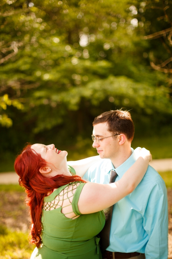 george mason virginia engagement pictures theatre offbeat