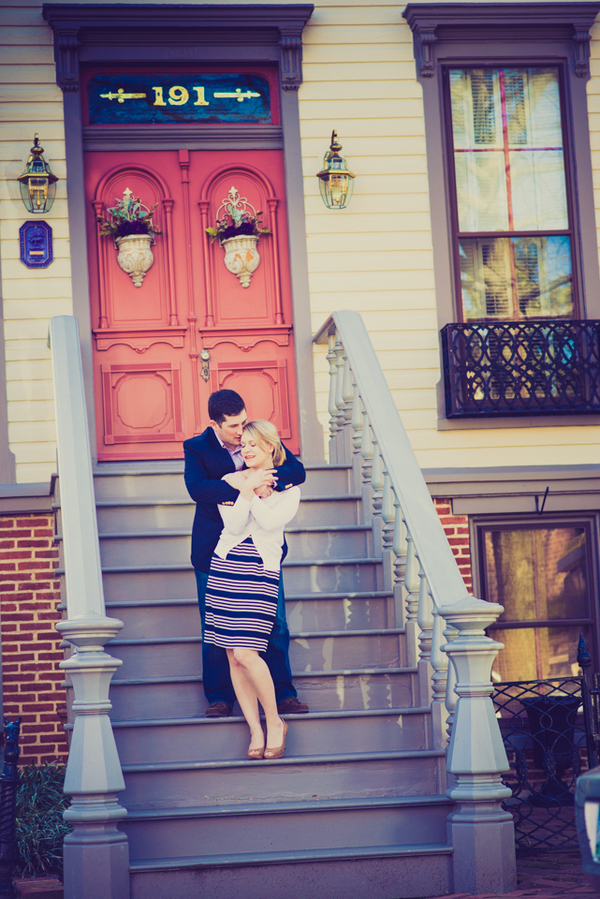 downtown historic annapolis shore engagement pictures