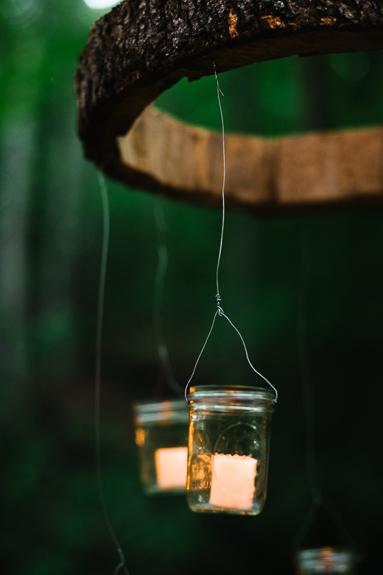 DIY wood chandelier how to make tutorial
