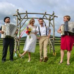 Capitol Wedding: Allie & Marko's Colorful, DIY Farm Wedding in Virginia
