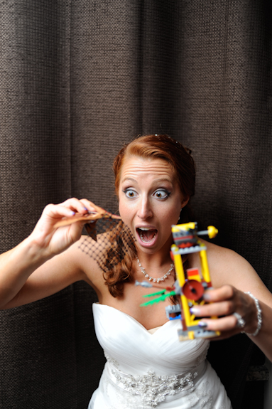 offbeat virginia wedding lego themed