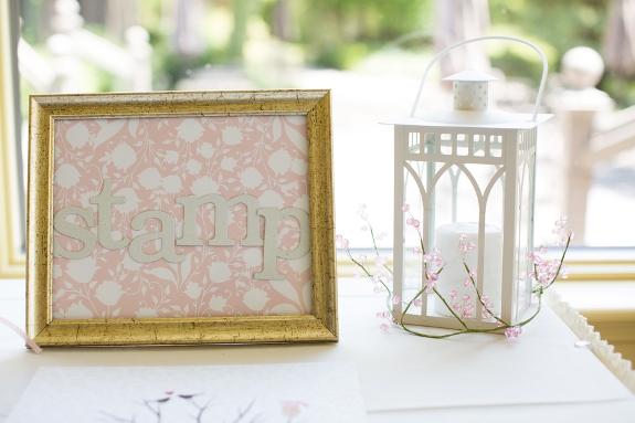 italian inspired pink white wedding