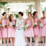 Wedding Inspiration: Handmade, Italian-Inspired Pink & White Wedding