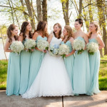 Chris & Vida's Sea Foam & Teal, Romantic Virginia Wedding