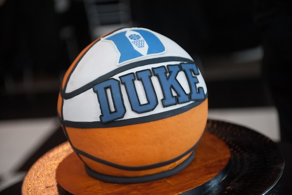 duke basketball grooms cake